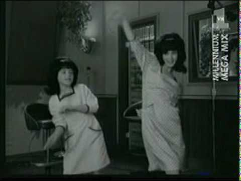 """Winona and Christina dance around to Cher's """"Shoop Shoop Song"""""""