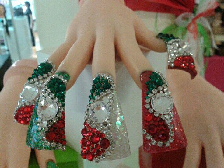 24 mejores imágenes de uñas Mexicanas en Pinterest | Uñas mexicanas ...