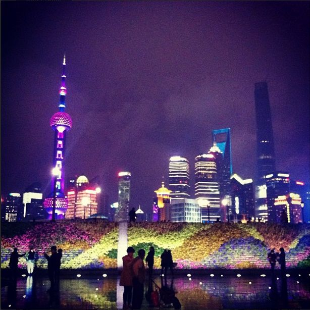 #上海市,  #外滩: #Shanghai, as seen from the #Bund