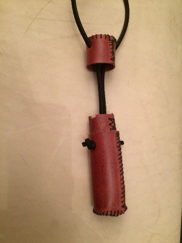 Knitting Needle Case Leather : Leather needle case opened the horny viking pinterest