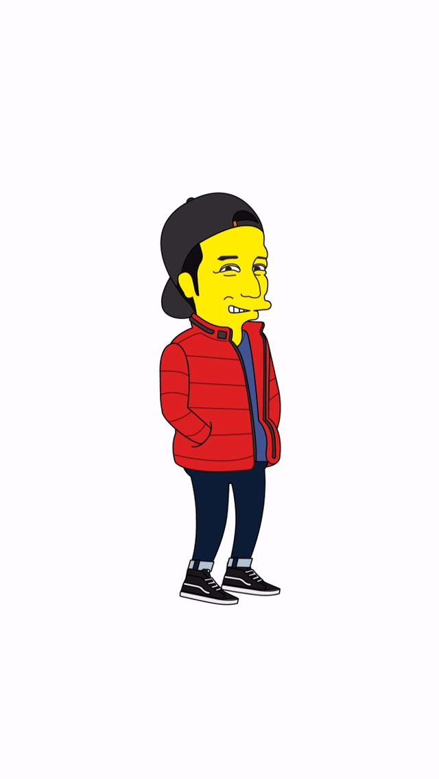 Simpson Style Caricature [Me] 심슨 스타일 캐리커쳐 [나]