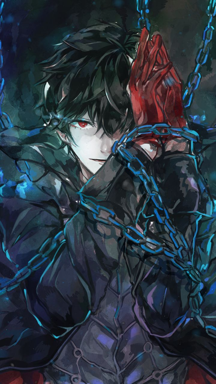 Android Boy Persona 5 Joker Persona 5 Anime Persona 5