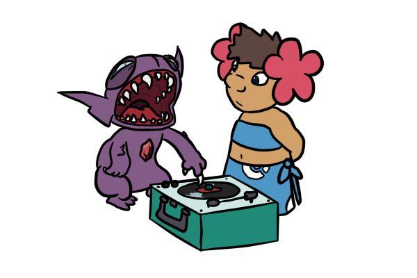 Stitch is a Sableye