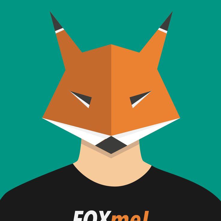 Man with a fox head