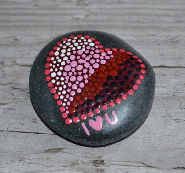 Valentines Day Valentines Gift Love Painted Rocks