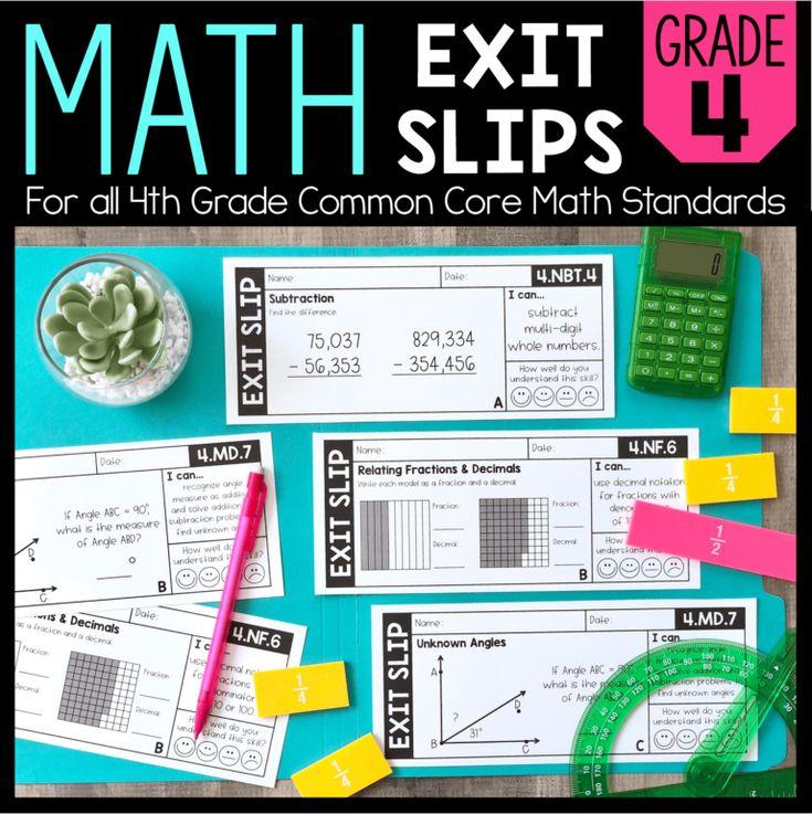 Frightening Figures of Speech | Math exit slips, Common ...