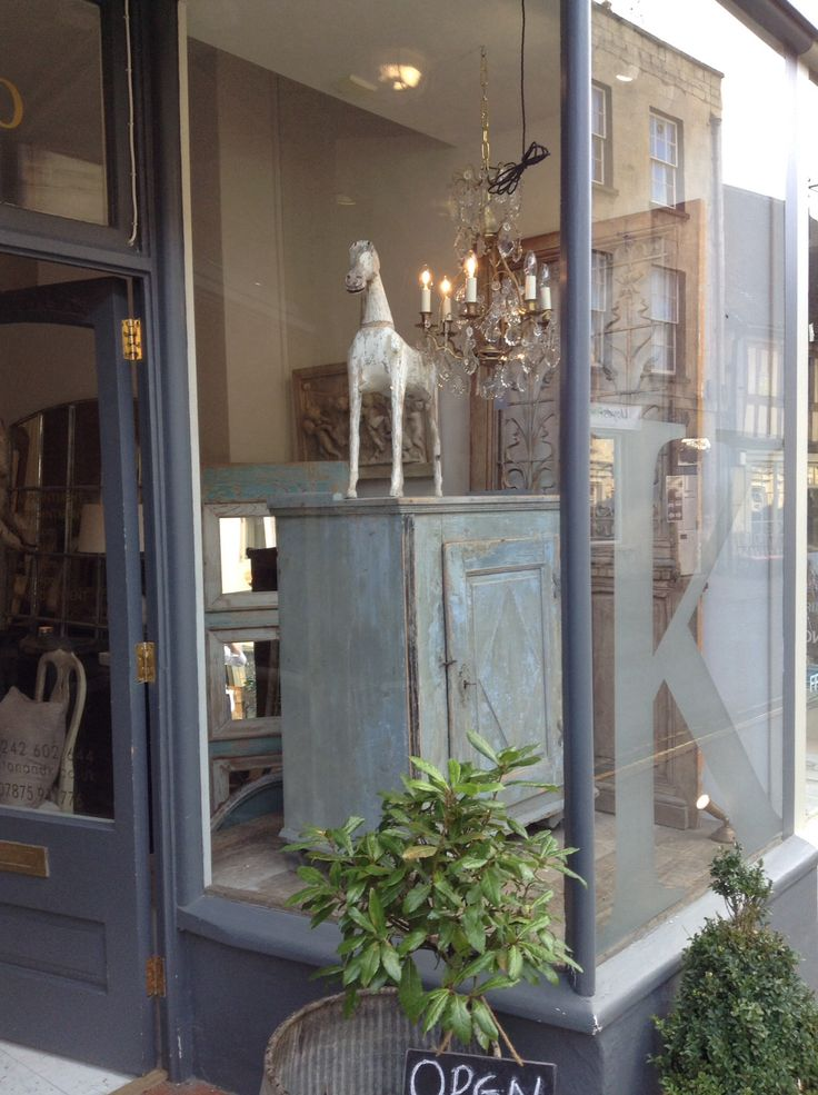 Anton and k shop window