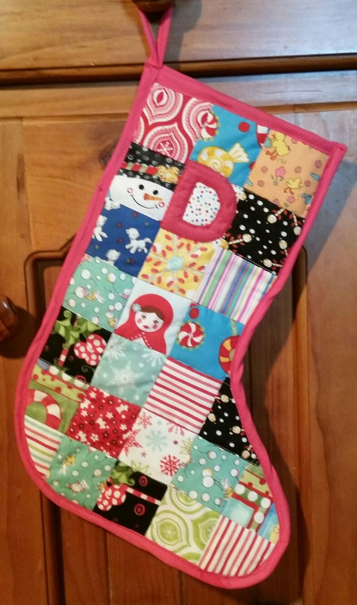 Delphine's Christmas stocking