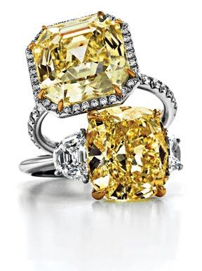 Tiffany's yellow diamond ring -OMG only in my DREAMS <3 I have always wanted a yellow diamond