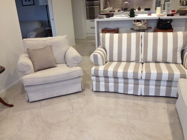 Perfect Contrasting Neutrals Striped And Corduroy Upholstered Furniture Www.town  Country.co.nz