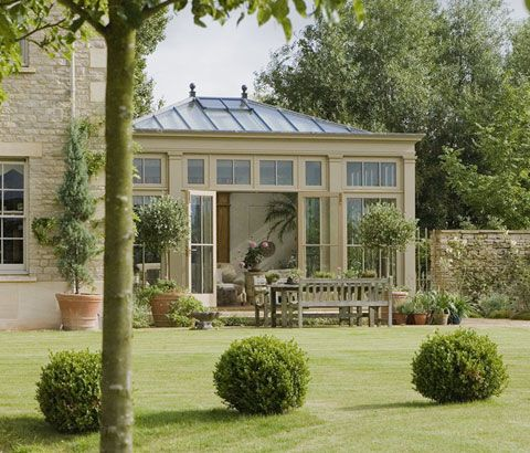British conservatories and orangeries