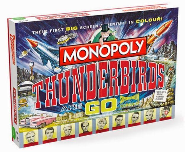 BLOG DOS BRINQUEDOS: Jogo Monopólio Thunderbirds em Ação