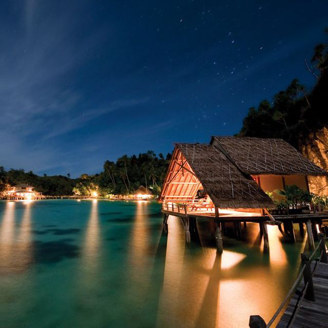miscool eco resort, raja ampat indonesia