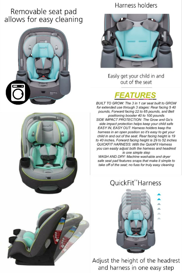 Details about Safety1st Grow and Go 3in1 Convertible