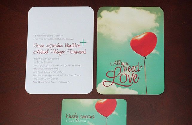 Вдохновение: 33 необычных приглашения, необычное свадебное приглашение