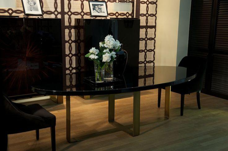 DOM EDIZIONI: Salone del Mobile Milano #gerard #pierre #domedizioni #luxuryliving #luxuryfurniture #vicky #dinnerchair #luxury