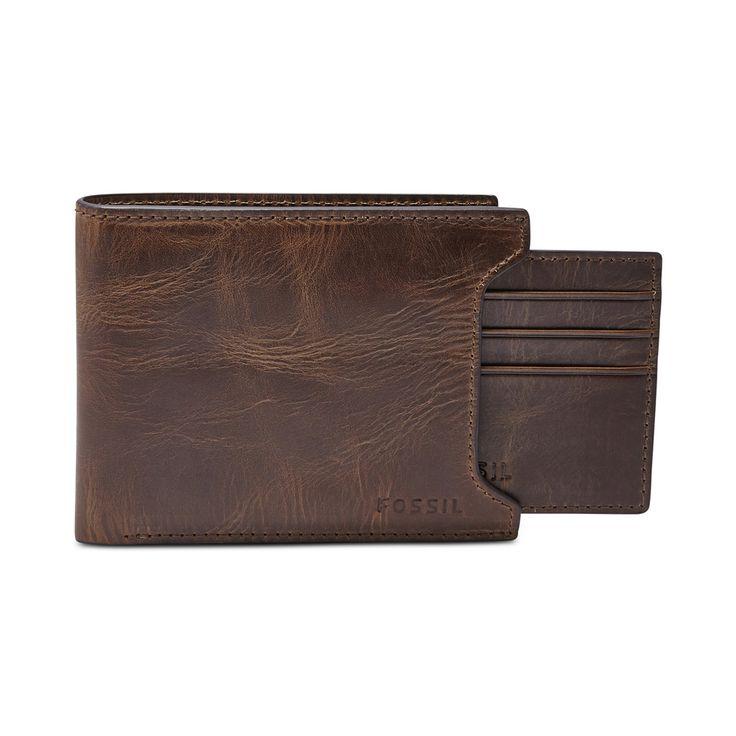 Fossil Derrick Leather Bifold Wallet