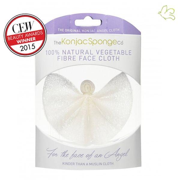 The Konjac Sponge Company - Lingette Démaquillante Konjac Tissu d'Ange  Tissu démaquillant innovant au Konjac. Elimine le maquillage, nettoye en profondeur, exfolie en douceur et stimule le flux sanguin pour un teint éclatant. 16,95€ #demaquillage #tissu #konjac #eponge #soin #visage #nettoyage #naturel #vegan #cosmetiques #bio #eshop #paris #france #lofficinaparis #ange www.officina-paris.fr