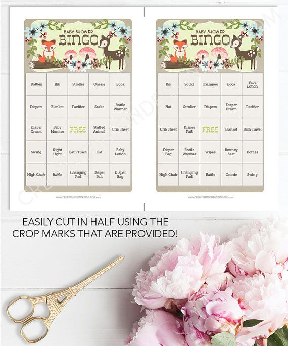 Make your Baby Shower amazing with this super fun game! Ladies of all ages love playing!   • • • • • HOW IT WORKS • • • • • 1. Download the PDF 2. Print at home 3. Cut the sheets in half (crop marks provided) 4. Sit back and watch all the ladies laugh as they play the game!   • • • • • FILE INFORMATION • • • • • - 50 Game sheets included - 25 pages - US 8.5x11 size included - A4 size included - Two games print on standard 8.5x11 paper - Easily cut sheet in half (crop marks provided) - Best…