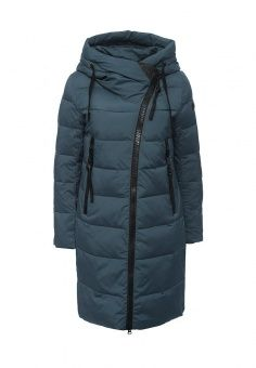 Куртка утепленная, Clasna, цвет: синий. Артикул: CL016EWNLX64. Женская одежда / Верхняя одежда