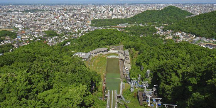 大倉山展望台 | ようこそさっぽろ 北海道札幌市観光案内