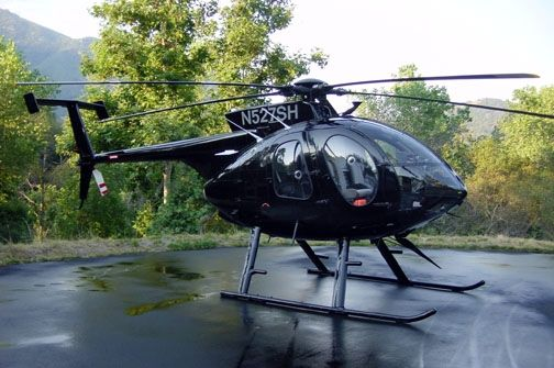MD 500E......THE sports car of helicopters!