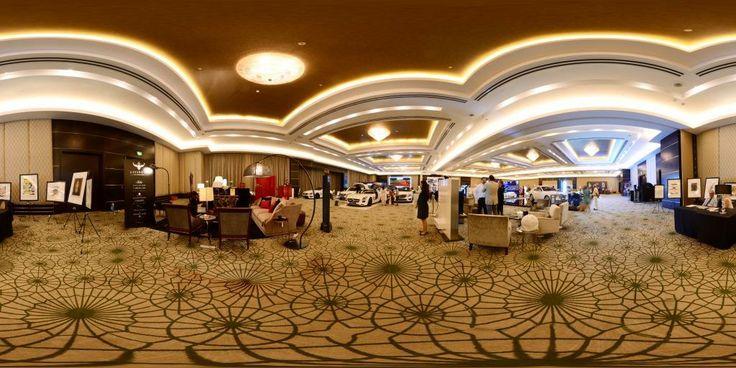 Panoramic view of World Luxury Expo, Doha #3