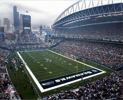 Century Link Field ... GO SEAHAWKS!!! Unless, they are playing the Patriots....