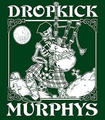 Dropkick Murphys. Punk with bag pipe.
