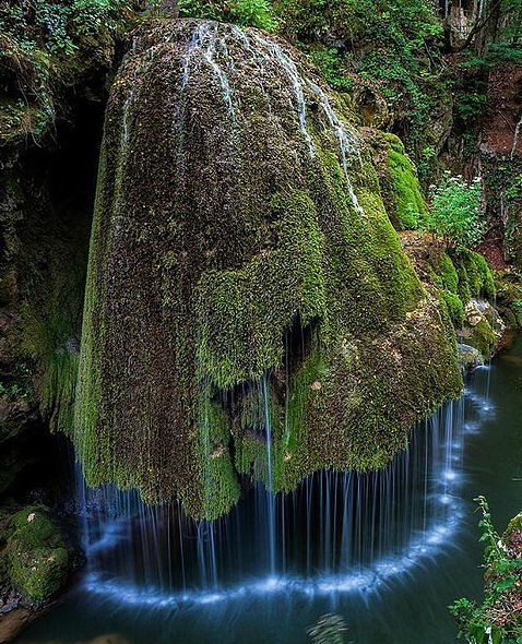 Wow so Fairytale-like! - Bigar Waterfall, Romania -- Never saw anything like it. Only God can do something like this!