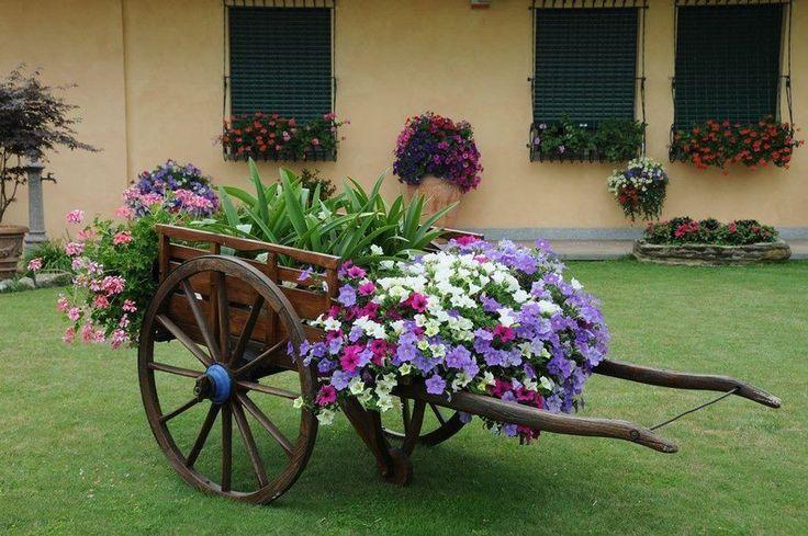 Arte da giardino fiori e piante pinterest giardino - Arte e giardino ...