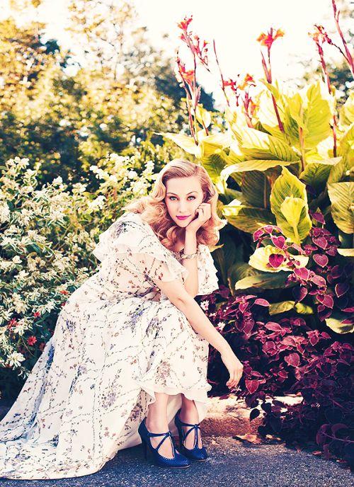 Sarah Gadon, she's so gorgeous.