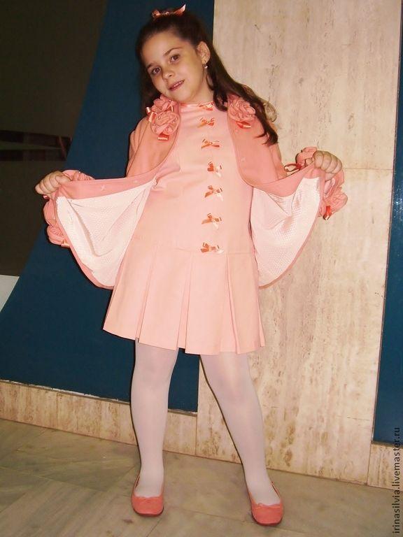 """Купить Платье для девочки """" Зефирка"""" - платье для девочки, платье, осенняя мода, весенняя мода"""