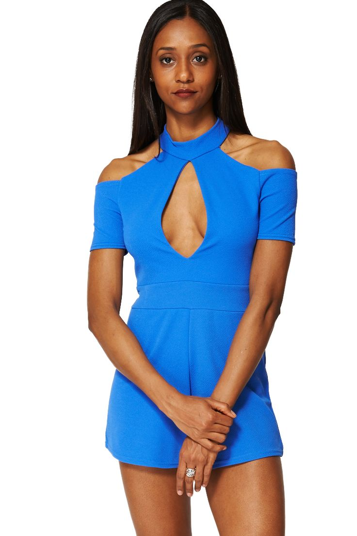 ScottyDirect - Cold Shoulder Playsuit, $55.95 (http://www.scottydirect.com/cold-shoulder-playsuit/)