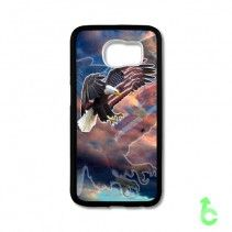 American Flag and Eagle Art Samsung Cases