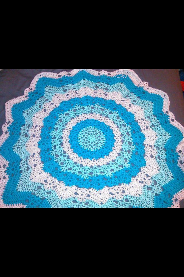 12 mejores imágenes de Crochet~ In the Round en Pinterest ...