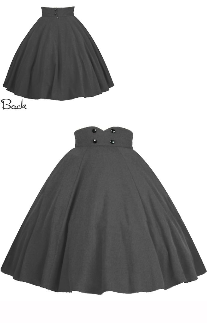 Rockabilly Swing Skirt by Amber Middaugh   2015 Standard Size $39.95 Plus Size $45.95