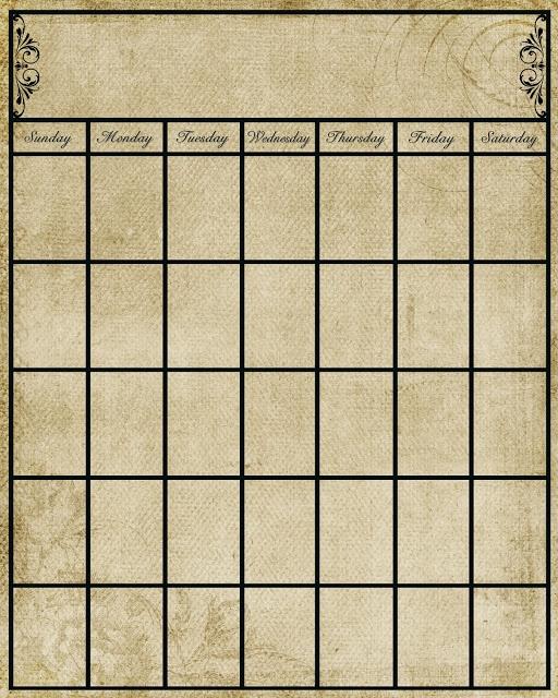 Homemade Calendar Template : Best homemade calendar ideas on pinterest