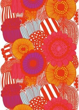 Siirtolapuutarha print by Marimekko