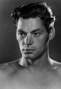 johnny weissmuller. original tarzan....rock that loin cloth.