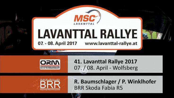 Lavanttal Rallye 2017 - SP 1 - Raimund Baumschlager / Pirmin Winklhofer, BRR Skoda Fabia R5