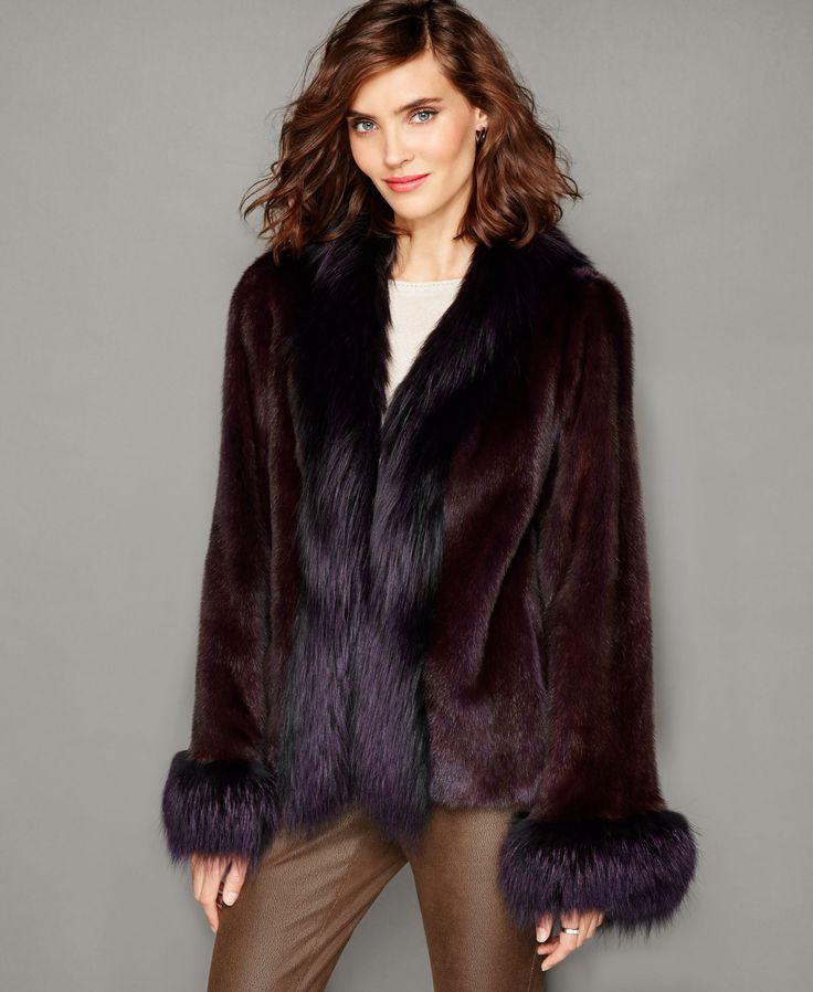 245 best images about Fur jacket on Pinterest