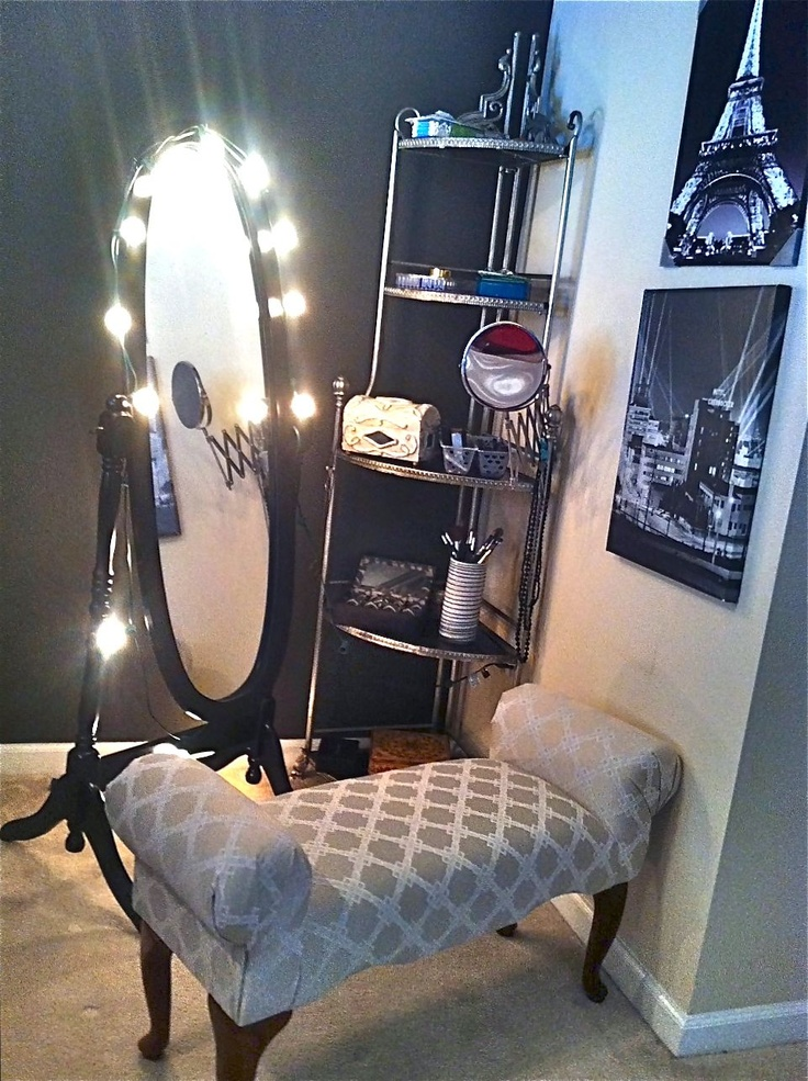 244 Best Diy Vanity Area Images On Pinterest Hairdresser