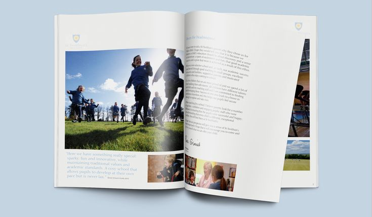 Think Creative | Design studio services for Independent Girls School | St Swithuns | Hampshire