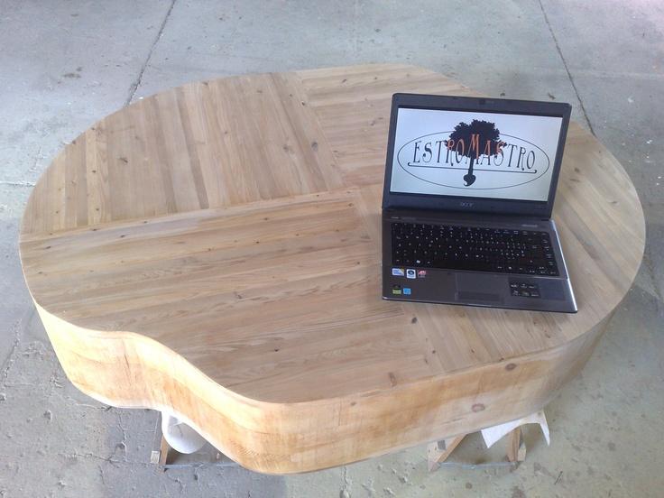 "Italian carpenter, table by ""EstroMastro"" ;)"