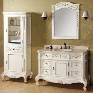 When it comes to traditional bathroom furniture including sink stands, vanities, and cabinets, Ronbow Bath Furnishings has the best collection I have seen.