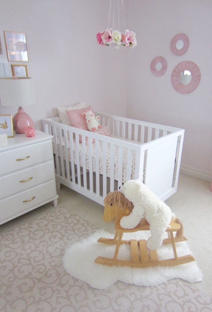 17 Best Images About Pink Nursery On Pinterest White