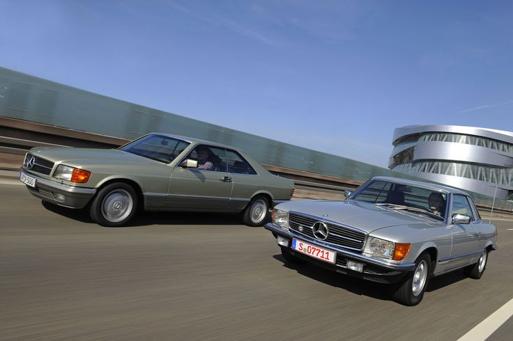 Mercedes 280 SLC (107) & 500 SEC (126) Fahrbericht: Sport oder Luxus? Zwei Mercedes-Coupés
