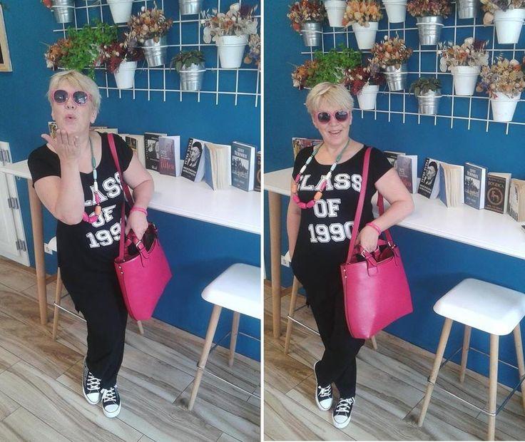 Cantareata Silvia Dumitrescu a ales geanta Irene Pink http://www.adona.ro/geanta-irene-pink.html