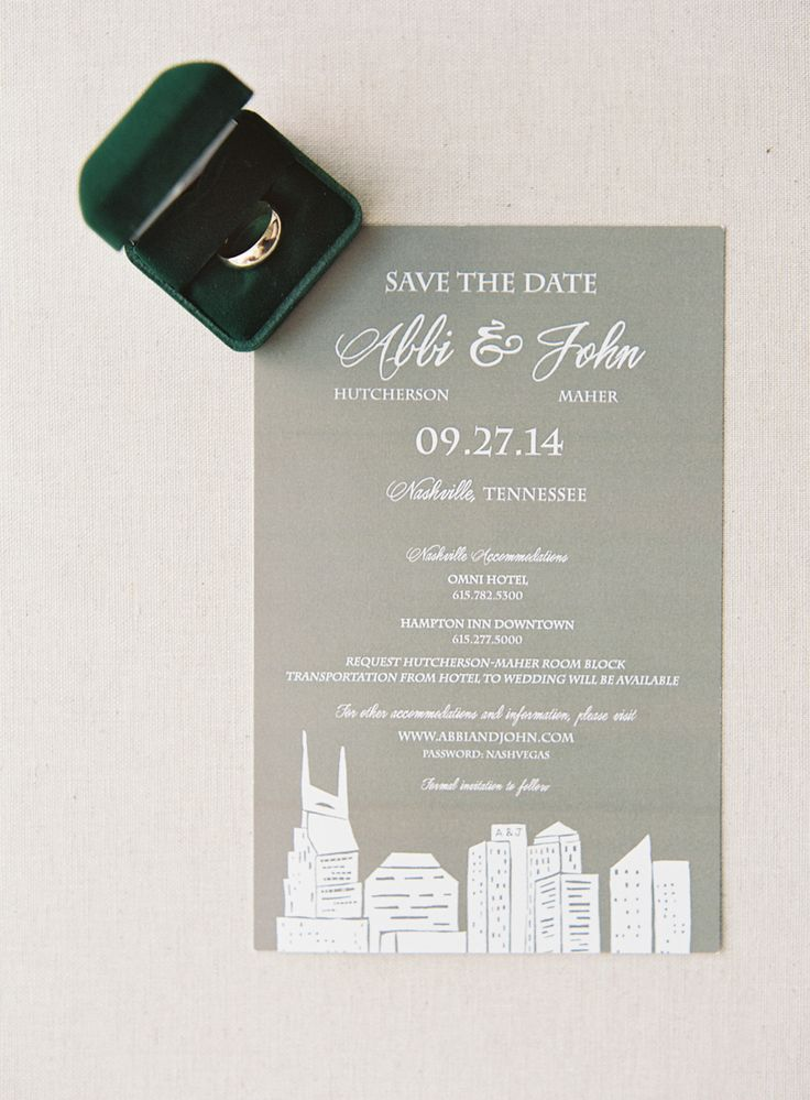 Timeless wedding invitations featuring the Nashville skyline  Photo  Jen  Huang   Stationery  Calligraphy111 best Wedding Invitations images on Pinterest   Wedding  . Nashville Wedding Invitations. Home Design Ideas